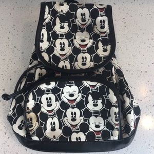 Mickey Mouse Allover print Mini Backpack